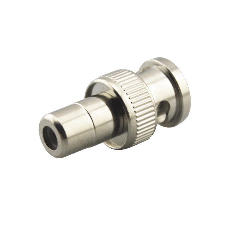10pcs JR-B9 BNC To RCA Connector Small And Short BNC Connector For CCTV System