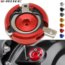 цена ZRIHE Motorcycle Engine Oil Filter Cup Plug Cover Screw For YAMAHA TMAX 530/500 T-MAX 530/500 TMAX530 TMAX500 MT/FZ 09