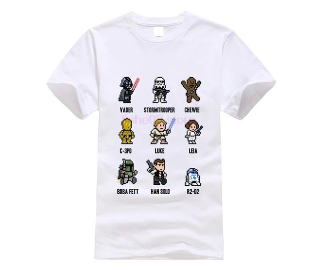 Camiseta Star Wars Dark Vader Han Solo Fuerza Hora Leia Pw098 SIL