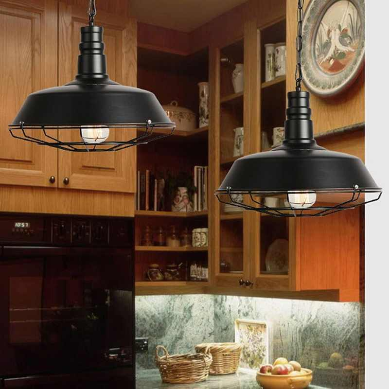 Светильник потолочный светильник Ретро промышленный винтажный подвесной светильник Декор
