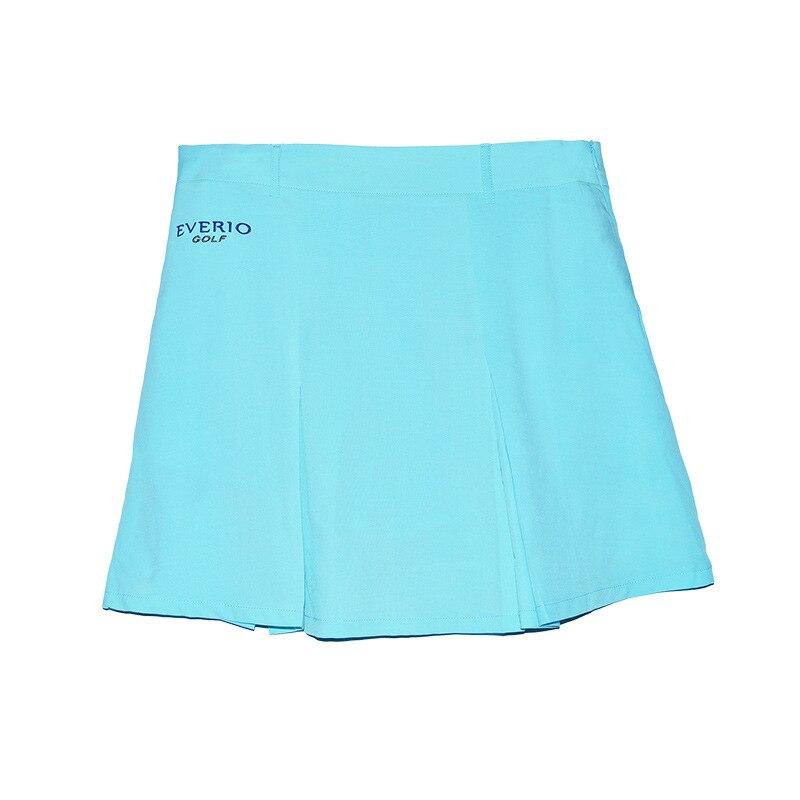 EVERIO femmes golf Sportswear dames été anti doublure jupe de golf sports de plein air mince respirant golf Shorts jupe