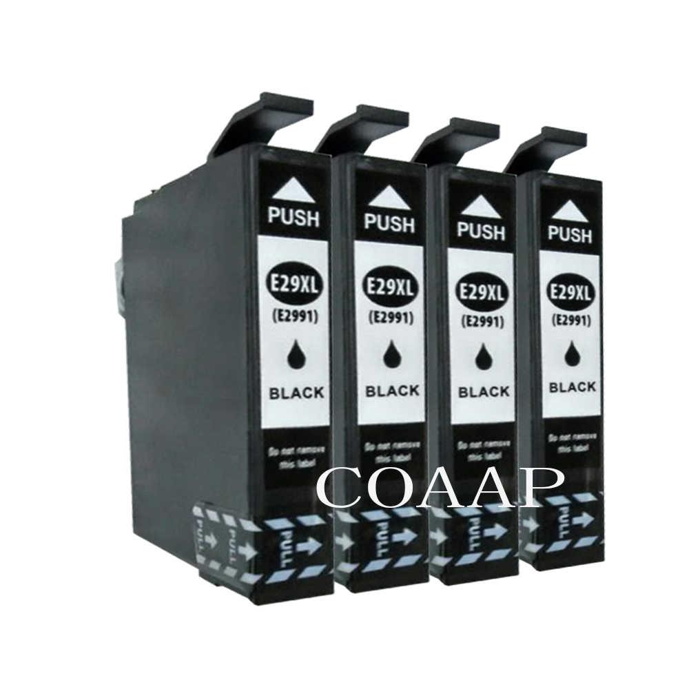 4x T2991 Cartridge Tinta Kompatibel Untuk EPSON Rumah XP235 XP332 XP335 XP432 XP435 Printer