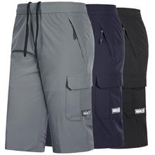 Plus Size 7XL,8XL Mens Gym Quick Dry Shorts Workout Training