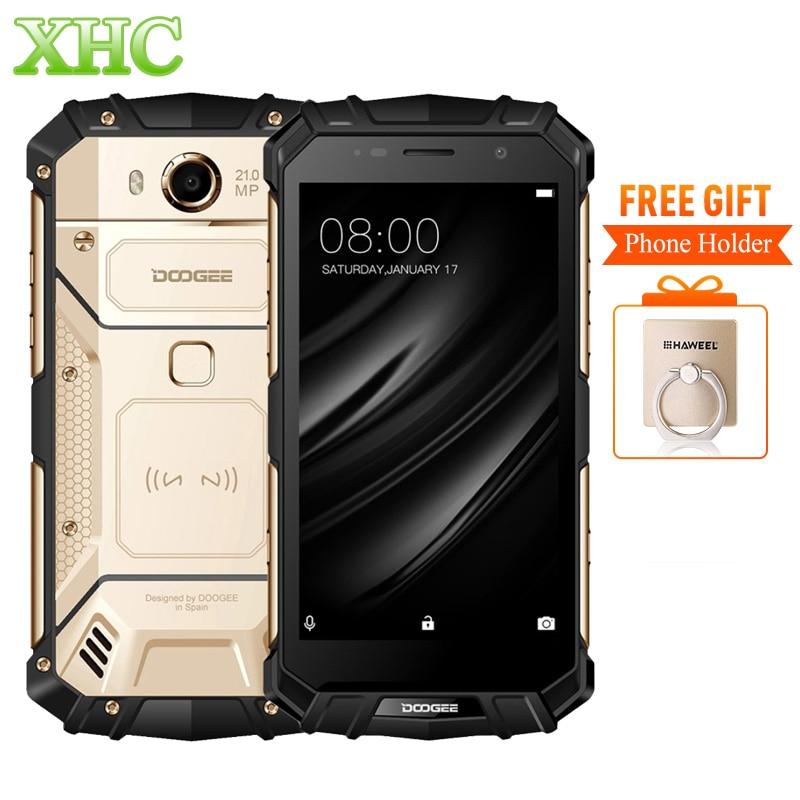 DOOGEE S60 IP68 Smartphone 5580 mAh Carica Wireless Helio P25 Octa Core 5.2 ''FHD 21MP RAM 6 GB ROM 64 GB Dual SIM NFC Cellulare