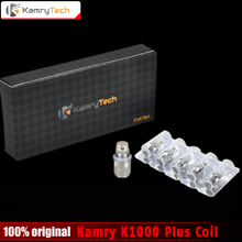 Оригинал Kamry K1000 плюс катушки Сменные sub 0.5ohm X6 плюс катушки K1000 плюс распылитель электронная сигарета испаритель катушки 5 шт./лот