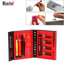 Kaisi Precisión 38 en 1 sistema del Destornillador De Cromo Vanadio De Acero S2 Desmontar Herramientas de Uso Doméstico para el Teléfono iPhone ipad mac