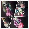 Новая мода оригинальный стиль для monster high куклы школьная одежда платье костюм разнообразие стилей Аксессуары
