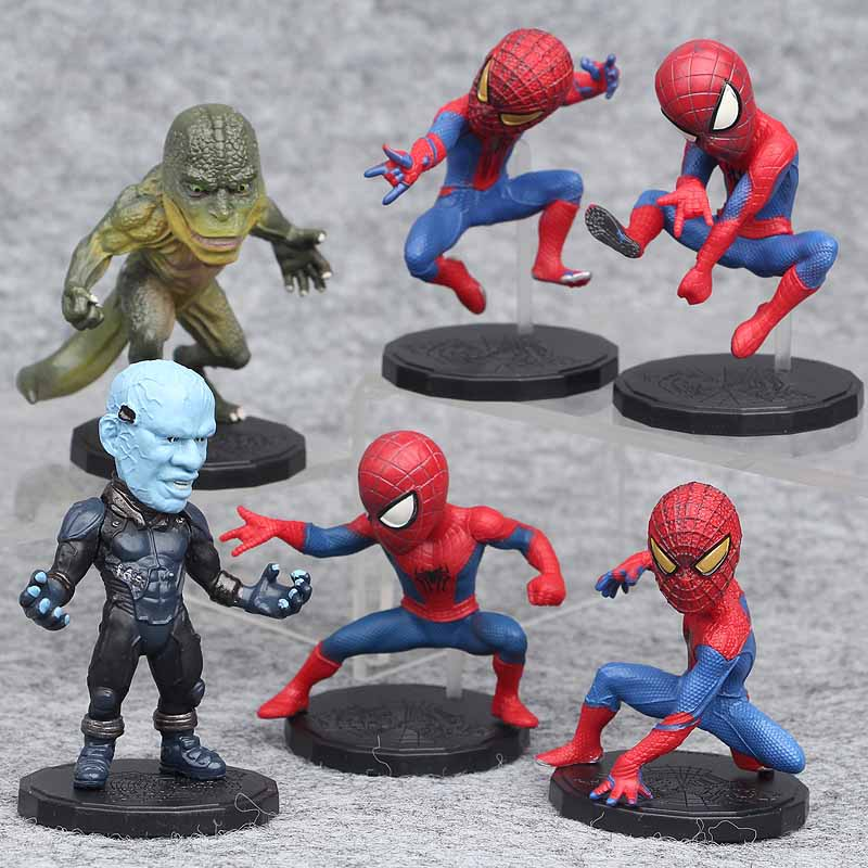 Marvel Avengers Super Hero Incredible Action Figure Toy Doll Collection 6pcs//set
