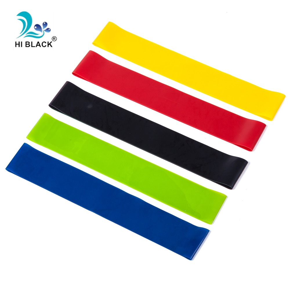5 Levels Resistance Bands Fitness Expander Natural Latex Sport Workout Rubber Elasitc Band for Fitness Home Gym Yoga Exercise