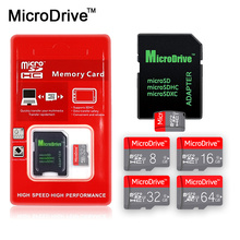 NEW hot Version Micro SD Card TF Card 4GB 8GB 16GB 32GB 64GB 128GB Class 10 memory card usb micosd card for Free adapter Gift(China)