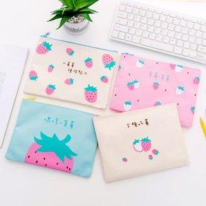 Document bag bill zipper cute