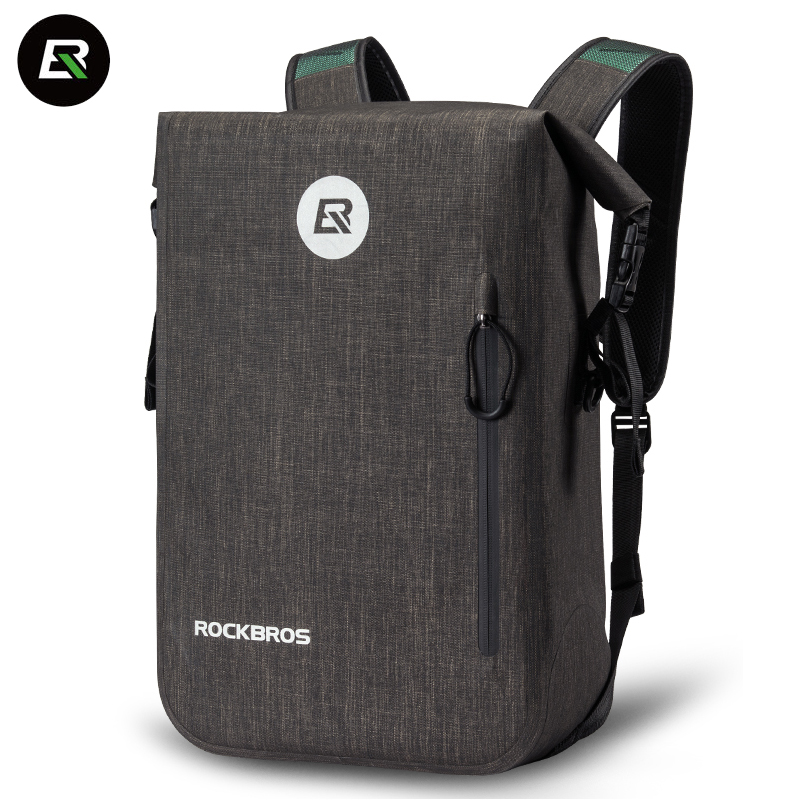 Rockbros Велоспорт рюкзак 24L Водонепроницаемый велосипед велосипедная сумка для мужчин и женщин Спорт на открытом воздухе путешествия Туризм К...