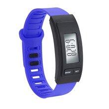Digital Watch Men Run Step Watch Bracelet Pedometer Calorie Counter Digital LCD Walking Distance 0619