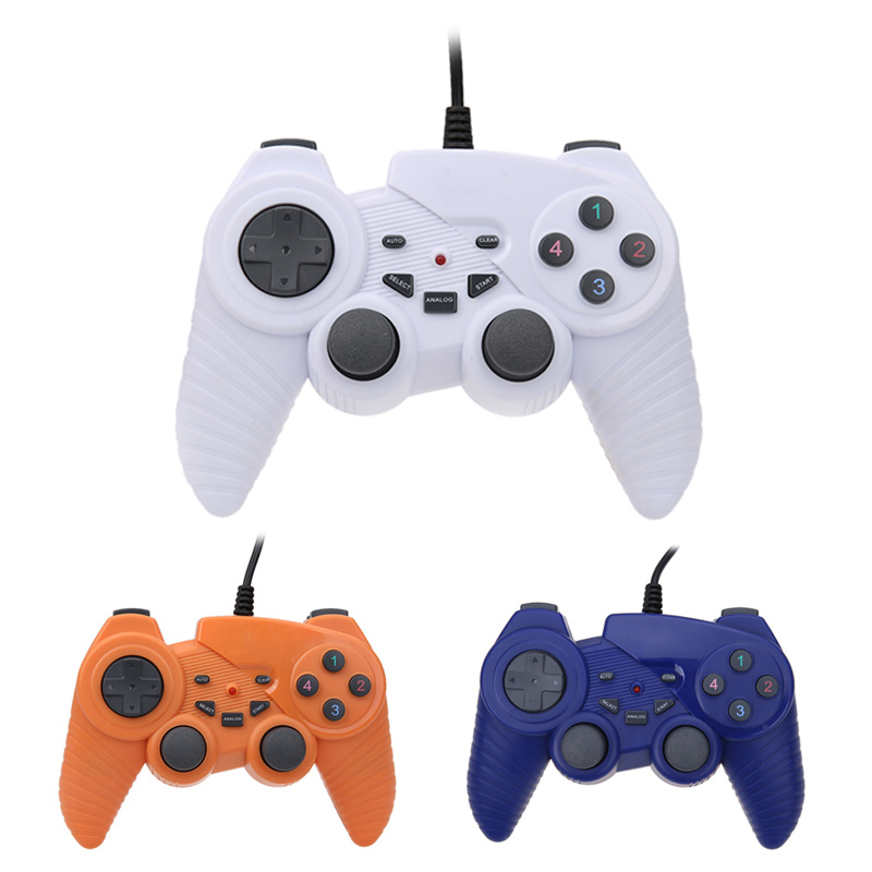 2017 ABS Wired USB Game Controller Joypad font b Joystick b font Control for WIN7 WINQX