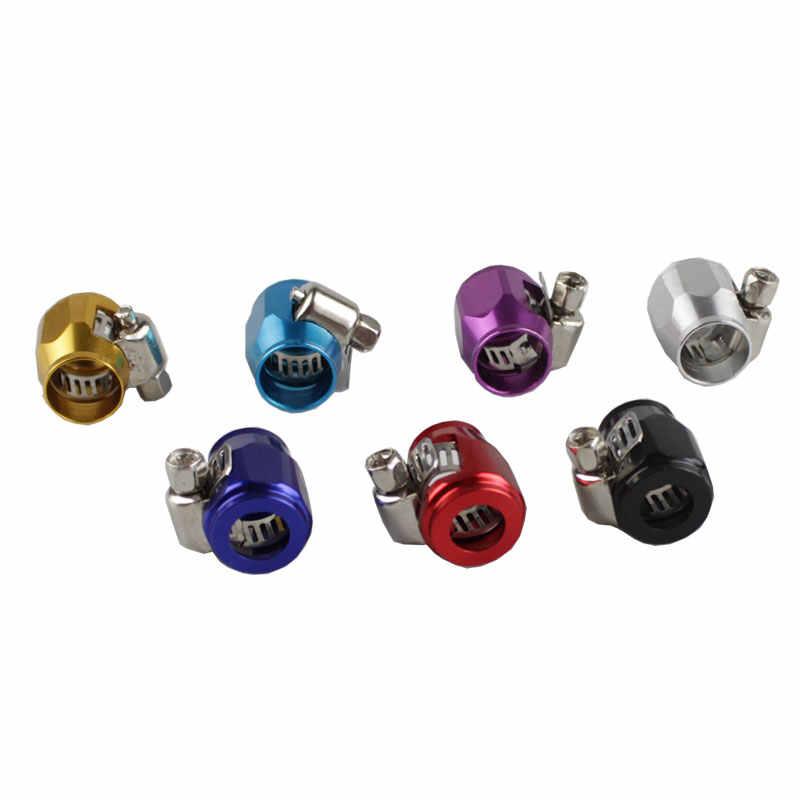 Rastp-Colorful Universal Balap AN4 13 Mm Ujung Selang Clamp Fitting Minyak Pipa Air RS-TC008-AN4