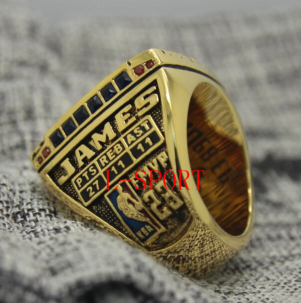 519387931ed 2015 2016 Cleveland Cavaliers Basketball Championship ring MVP LeBron JAMES  Replica size 8 14 US best gift for fans collection-in Rings from Jewelry ...