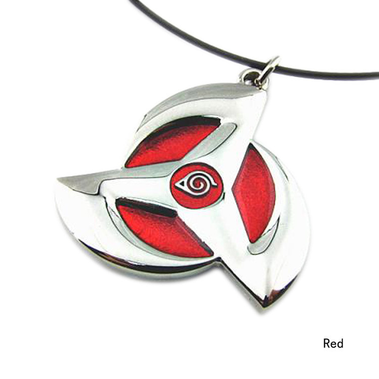 Naruto Sharingan Pendant Necklace
