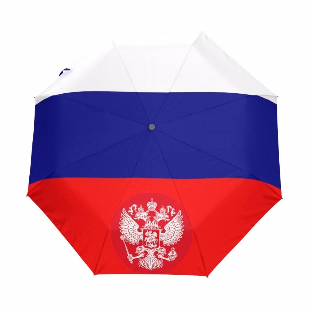 Custom Kansas State Flag Compact Travel Windproof Rainproof Foldable Umbrella