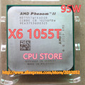 AMD Phenom II X6 1055T 95W CPU processor 2.8GHz AM3 938 Processor Six-Core 6M Desktop CPU (working 100% Free Shipping)