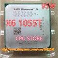 Amd phenom ii x6 1055 t 95 w processador cpu 2.8 ghz am3 processador 938 six-core 6 m cpu de desktop (trabalhando 100% Frete Grátis)