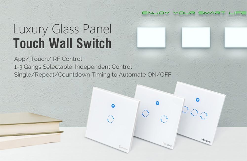 Control Wall Light mudar 1 2 3