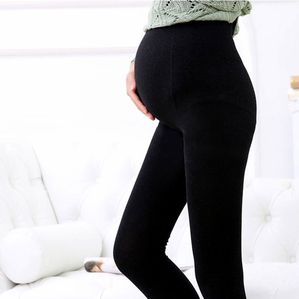 Black/Nude 120D Women Pregnant Maternity Tights Hosiery Solid Stockings Pantyhose Hot F05