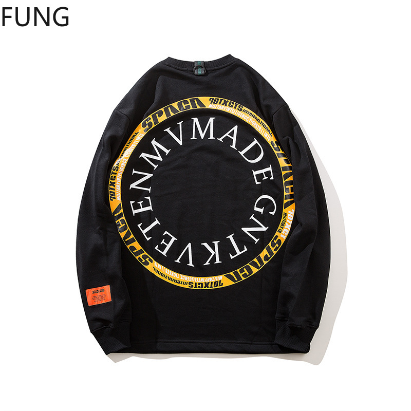 Casual Hoodie men sweatshirt mens clothing Hip hop street fashion printing sports hoodies