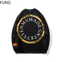 Casual Hoodie men sweatshirt mens clothing Hip hop street fashion printing sports hoodies