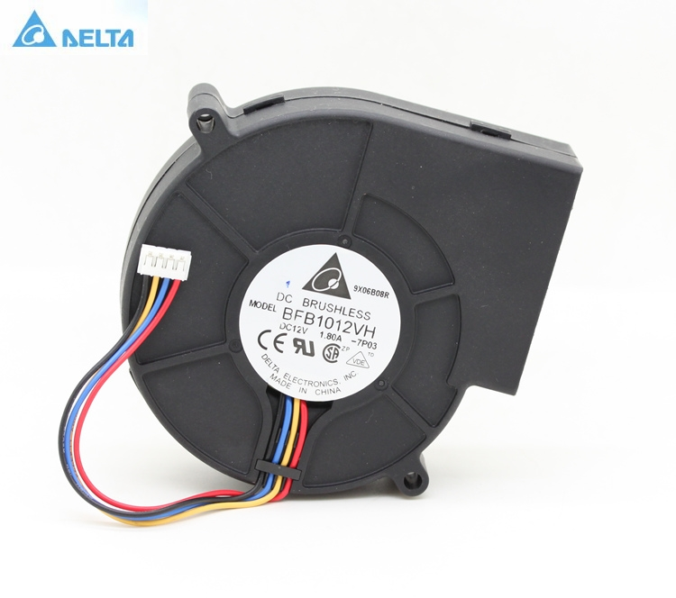 Original For Delta BFB1012VH  9733 Turbo Centrifugal Fan Blower 12V 1.80A Wind Capacity 97*97*33mm