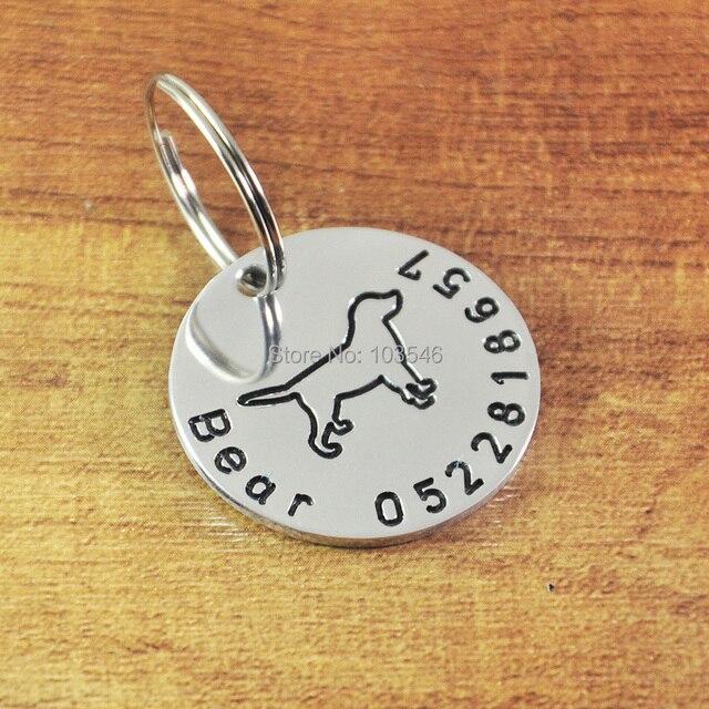 custom labrador dog tag personalized cute dog id tags custom pet dog