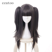 ccutoo Fire Emblem Heroes Wig Sallya Mixed Color Cosplay Wigs Synthetic Hair Halloween Tharja Role Play Heat Resistance Fiber