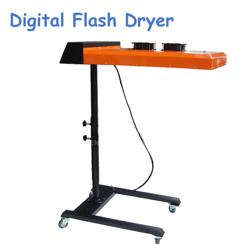 220V New Digital Flash Dryer for Silk Screen Printing Machine Dry Machine for T-shirt Press with Printing Area 50*60CM ND602 new style 468 colors carousel screen printing machine for t shirts