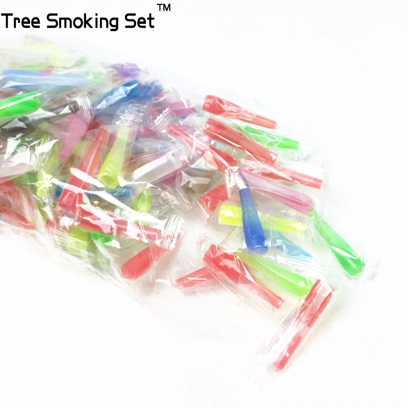 2bags 100pcs bag 53mm Medium Shisha Hookah Mouth Tip Filters Disposable Colorful MOUTH TIPS For Hookah Hose Hookah Pipe Shisha in Shisha Pipes Accessories from Home Garden