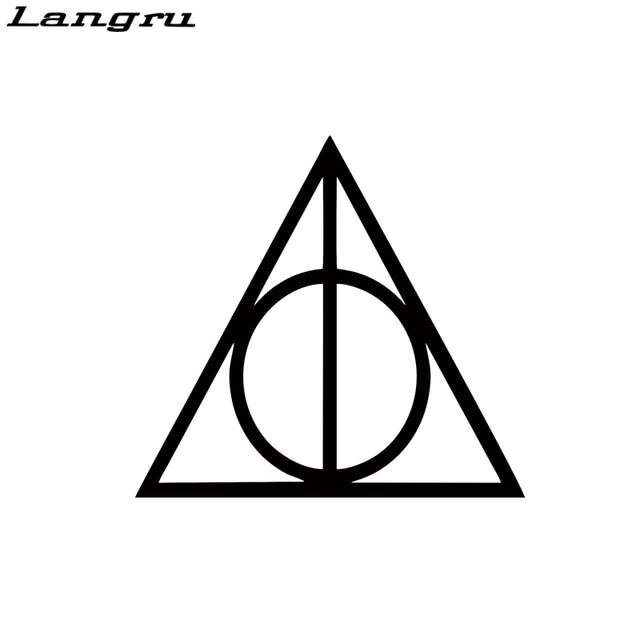 Langru Cool Graphics Harry Potter Vinyl Car Window Decal Deathly