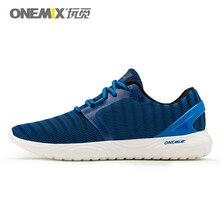 ONEMIX мужская обувь для фитнеса летние кроссовки для бега легкий вес прохлада для прогулок мягкая дезодорирующая стелька для мужчин черный серый синий