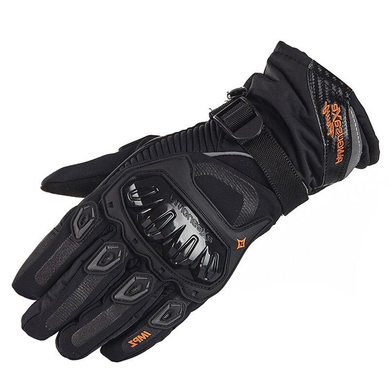 Motorrad Handschuhe Männer Touch Screen Winter Warme Wasserdicht Winddicht Schutz Handschuhe Guantes Moto Luvas Motosiklet Eldiveni