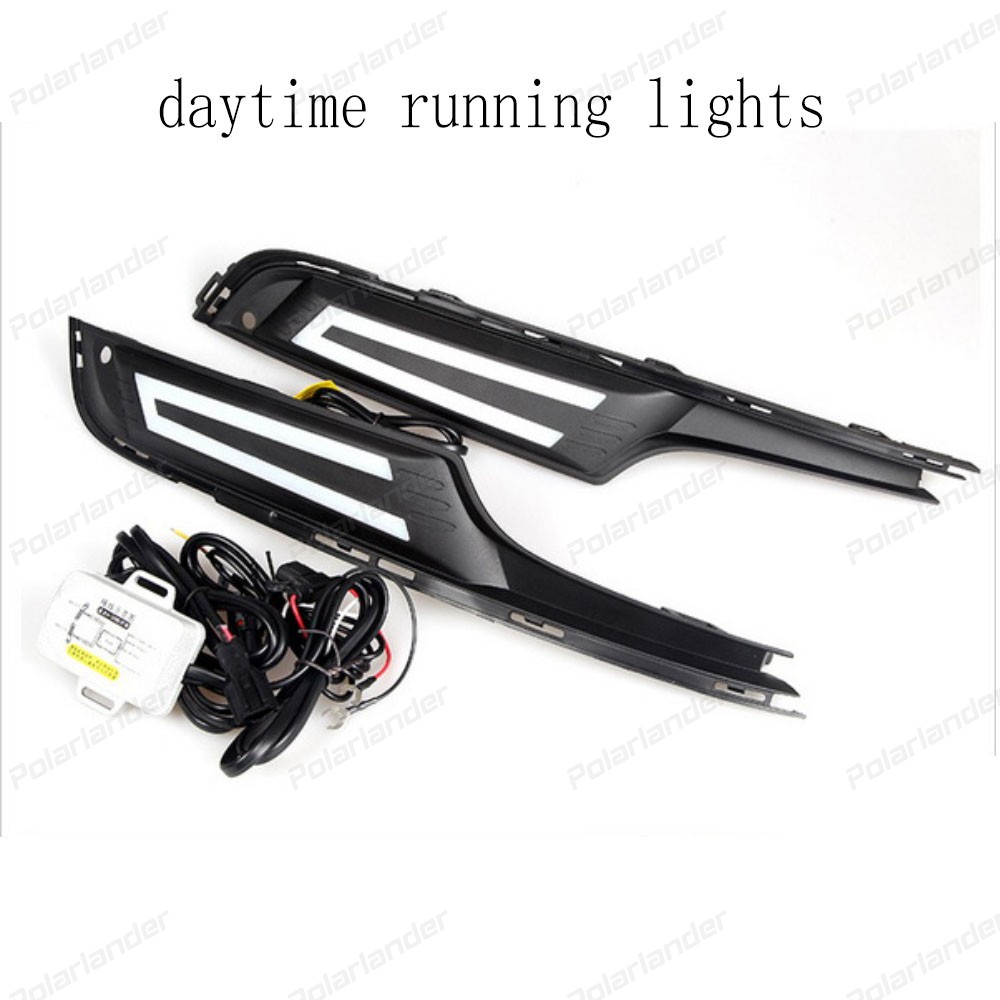 auto lamp drl car accessory For V/olkswagen G/olf 7 2014-2015 daytime running lights car styling