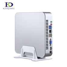 HTPC Intel 7th Gen CPU i5 7500 Quad Core Quad Threads Mini PC with DDR4 32G RAM 512G SSD 3.4GHz 6MB Cache 4K Play Game Computer