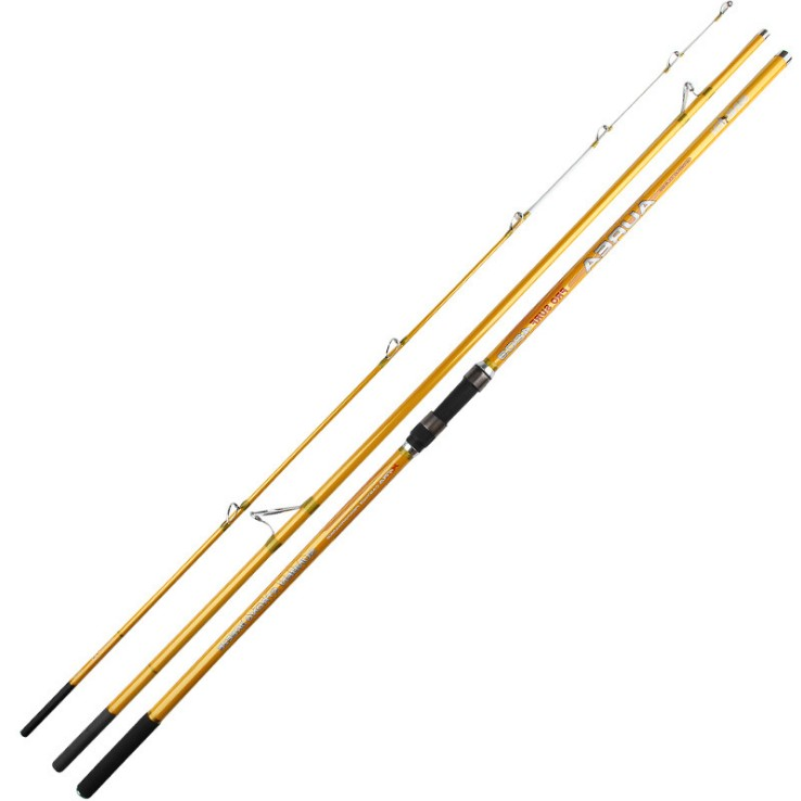 Export Italy Surf Rod 4.2M 3 Sections Carbon Fiber Distance Throwing Surfcasting Fishing Rod Intervene Throw Anchor Rod