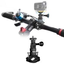 อลูมิเนียมอัลลอยจักรยานจักรยาน Handlebar ขาตั้งหมุนวงเล็บ Clamp สำหรับ Sony FDR X3000 AS300 AS50R AS50 กล้อง MOUNT Holder