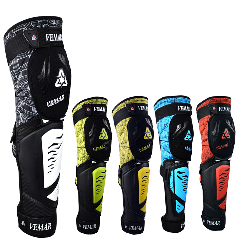 Vemar Motorcycle Protection Armor Motocross Knee Pads Chaleco Proteccion Moto Adult Knee Protector Safety Gear ATV