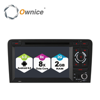 Ownice C500 Android 6 0 4 Core 1024 600 Car DVD GPS For Audi A3 2002