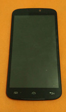"""تستخدم الأصلي lcd عرض + شاشة لمس + الإطار ل doogee x6 الموالية MTK6735 رباعية النواة 5.5 """"hd 1280x720 شحن مجاني"""