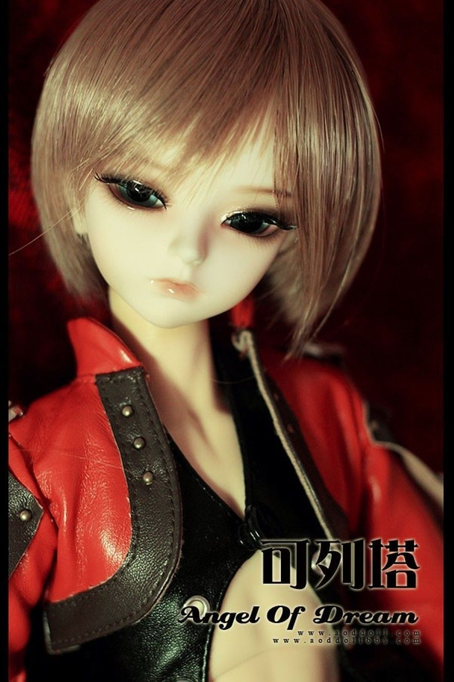 [wamami] AOD Mini 1/4 BJD Dollfie Girl Set* FREE FACE UP/EYES/~Li Ge 1 4 bjd dollfie girl doll parts single head include make up shang nai in stock