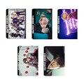 KPOP BTS Bangtan Meninos ASAS Youpop JUNGKOOK V Álbum LOMO Cartões K-POP de Moda de Nova Auto moldura Feita de Papel Cartão HD LK428 Photocard
