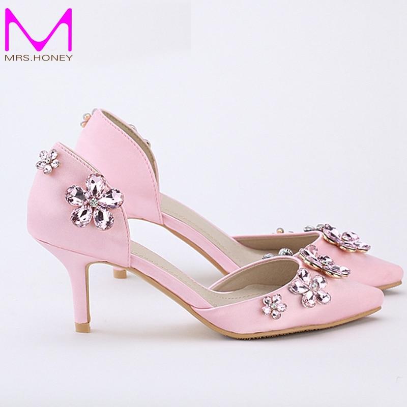 Popular Pink Kitten Heel Buy Cheap Lots From
