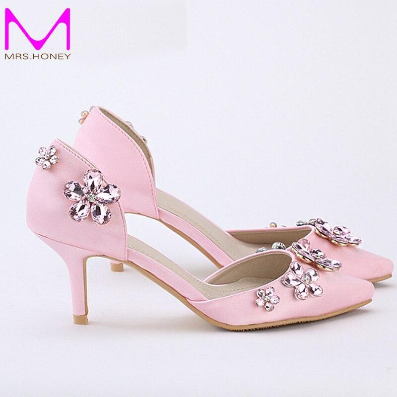 Online Get Cheap Pink Kitten Heel Shoes -Aliexpress.com   Alibaba ...