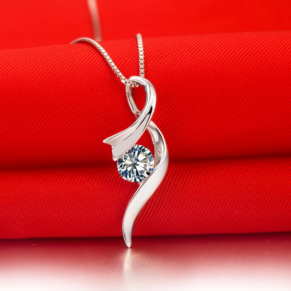 Ordinaire Royal Design Au #3: Aliexpress.com : Buy Royal Design Fancy Jewelry Au585 Pendant Necklace For  Bridal Jewelry Genuine 0.5Ct Moissanite Pendant For Her With Chain Gift  From ...