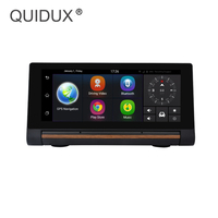 QUIDUX 7 IPS 3G Android DVR FHD 1080P Car Video Camera GPS Navigator Dual Camera Bluetooth Car DVR Registrator Recorder WiFi