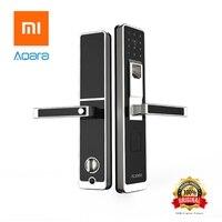 Xiaomi Mijia Original Aqara Smart Door Lock Digital Touch Screen Keyless Fingerprint Password Mi Home APP